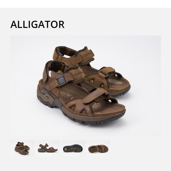 d20f0ef5cdd Mephisto Shoes | Allrounder Alligator Sandals Size 10 | Poshmark